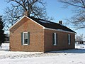 Green Plain Monthly Meetinghouse, eastern side and rear.jpg