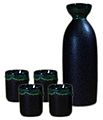 Green crystal sake set 4cup.jpg
