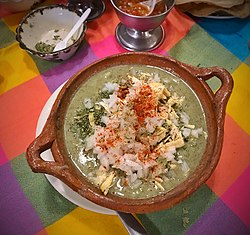 Green pozole, dressed (29161841908) (cropped).jpg