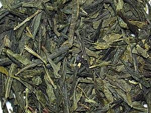 English: Bancha (green tea from japan). Deutsc...