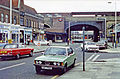 Greenford station entrance, 1978 geograph-3580976-by-Ben-Brooksbank.jpg