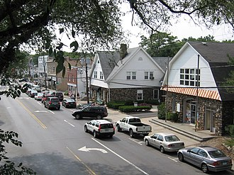 Old Greenwich, Connecticut - Sound Beach Avenue, west side