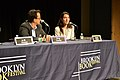 Greg Cowles and Nicole Krauss @ At the End of the Story (6161010066).jpg