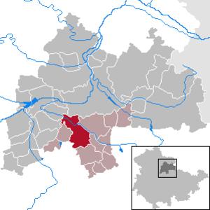 Großrudestedt - Image: Großrudestedt in SÖM