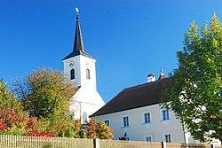 GuentherZ 2011-10-01 0164 Walkenstein Kirche und Pfarrhof.jpg