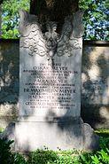 GuentherZ 2015-06-26 Salzburg-Stadt (10) Kommunalfriedhof Grabstein Oskar Meyer