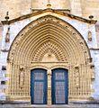 Guernica - Iglesia de Santa María, portada norte 01.jpg