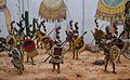 Guerrers jaguars asteques, museu dels soldadets de plom l'Iber.JPG