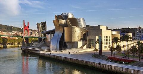 Guggenheim museum Bilbao HDR image