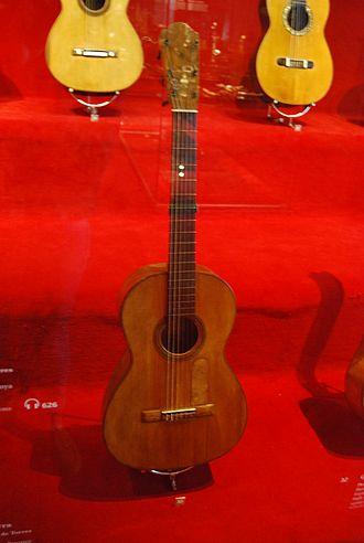 Antonio de Torres Jurado - Image: Guitarra de Torres
