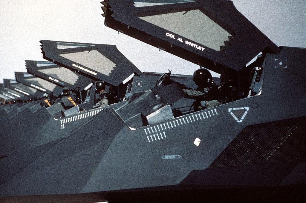 Gulf War 37 TFW F-117s