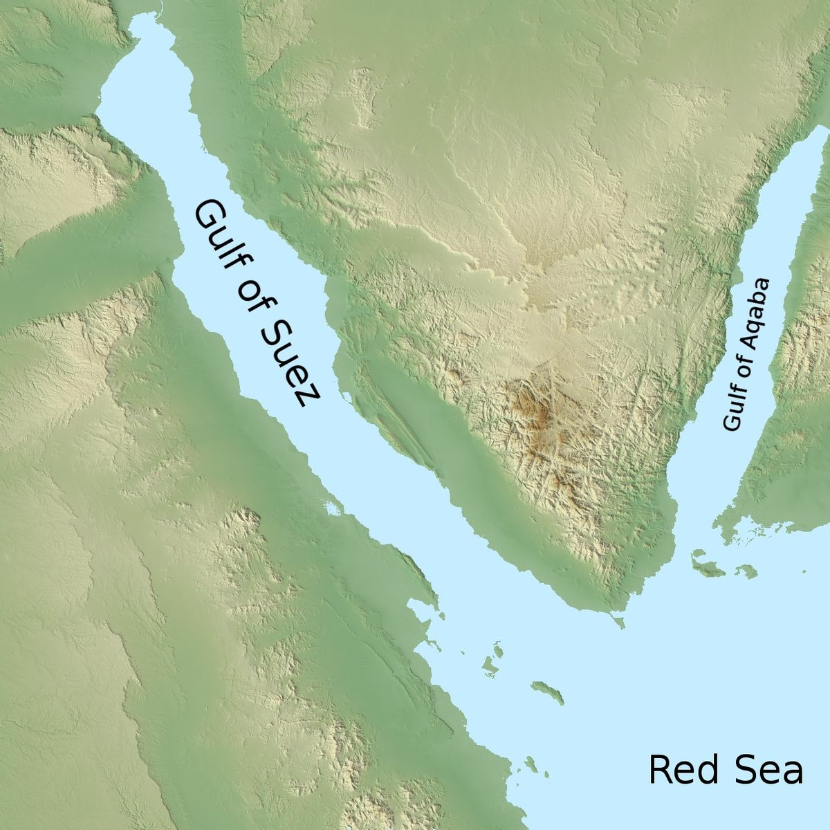 Gulf of Aqaba  Wikipedia
