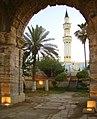 Gurji Mosque from Marcous Arch, Tripoli - Libya.jpg