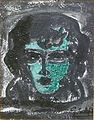 Gustaaf Sorel - Jonge vrouw met groen gezicht.JPG