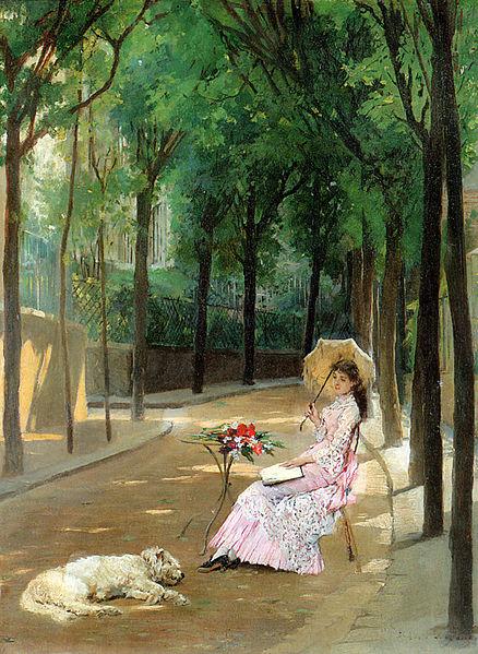 File:Gustave Léonard de Jonghe - A Lazy Afternoon.jpg