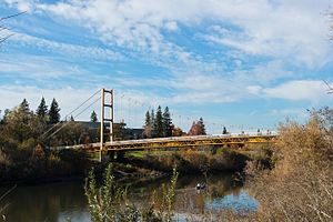 Guy West Bridge - Image: Guy West Bridge (5248634716)