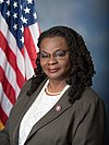 Gwen Moore, official portrait, 116th Congress.jpg