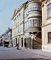 Győr, Széchenyi tér, Vastuskós ház. Fortepan 20991.jpg