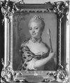 Gyllenborg, okänd kvinnlig medlem av ätten från 1700-talets mitt (Gustaf Lundberg) - Nationalmuseum - 39529.tif