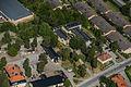 Hässelby villastads kyrka från luften.jpg
