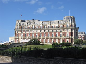 Hôtel du Palais - View from the south