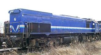 EMD GT26CW-2 - Image: HŽ 2063