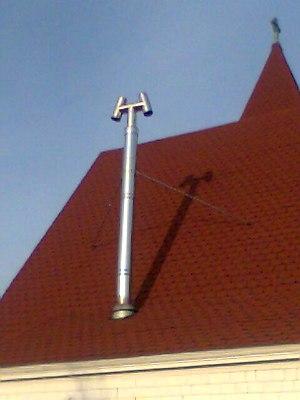 Cowl (chimney) - Image: H style cap