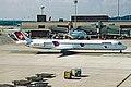 HB-IUP MD-83 Crossair(Swiss Intl) ZRH 18JUN03 (8532784855).jpg