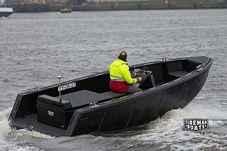 Rigid buoyant boat