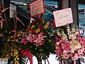 HK 荃灣 Tsuen Wan 白田壩街 45 Pak Tin Par Street 南豐紗廠 The Mills mall shop grand opening flower sign December 2018 SSG 09.jpg