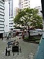 HK Central PMQ mall courtyard banyan tree Jan-2015 DSC.JPG