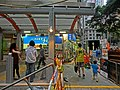 HK Sai Ying Pun 西環正街 Centre Street 01 Escalators May-2013 Bonham Road.JPG