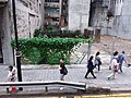HK tram view 上環 Sheung Wan 德輔道中 Des Voeux Road Central May 2019 Western Market Terminus view construction site SSG.jpg