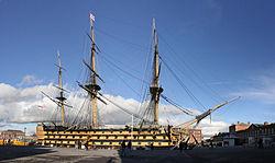 HMSVictoryPortsmouthEngland