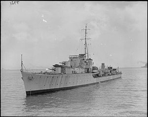 HMS Oribi (G66) - HMS Oribi