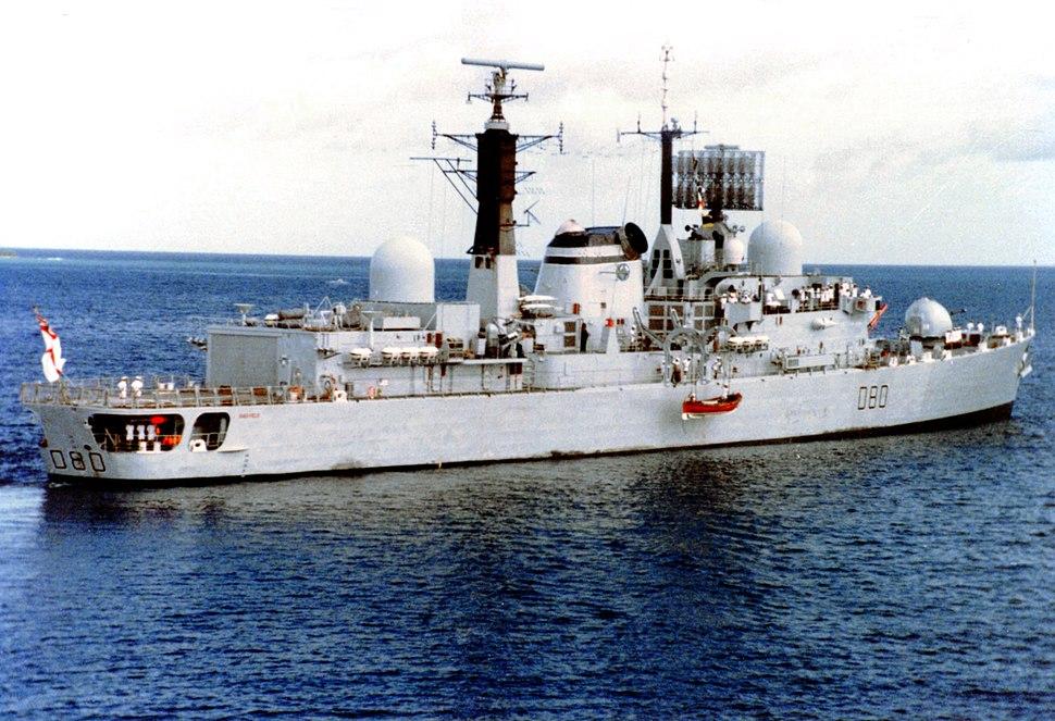 HMS Sheffield (D80)