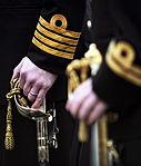 HMS Vanguard's Port ship's company, Divisions, Jan 2013 01.jpg