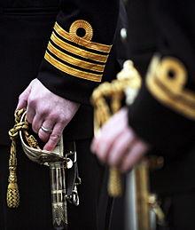 Compagnie du navire du port du HMS Vanguard, divisions, janvier 2013 01.jpg