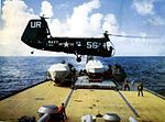 HUP of HU-2 taking off from USS Newport News (CA-148) 1955.jpg