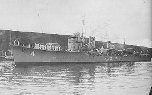 Japanese destroyer Hagikaze - Hagikaze