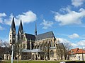 Halberstadt Blick von der Martinikirche zum Dom.jpg