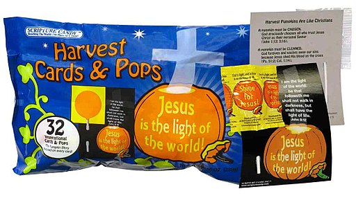 Halloween Scripture Candy