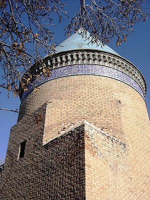 Hamdallah Mustawfi - Mausoleum of Hamdollah Mostowfi. Qazvin, Iran.