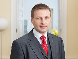 Hanno Pevkur Estonian politician