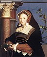 Hans Holbein d. J. - Portrait of Lady Mary Guildford - WGA11522.jpg