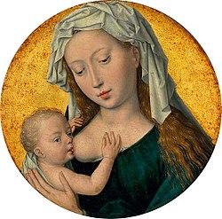 Hans Memling - Virgin Suckling the Child - WGA14966.jpg