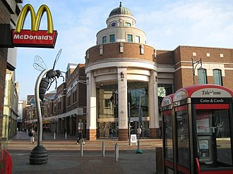 Harlequin Shopping Centre - Image: Harlequin Centre, Watford