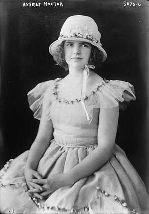 Harriet Hoctor - Image: Harriet Hoctor portrait