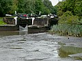Hatton Locks No 44 and an empty pound, Warwickshire - geograph.org.uk - 1188146.jpg
