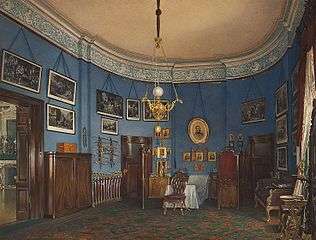 The Bedroom of Crown Prince Nikolai Alexandrovich